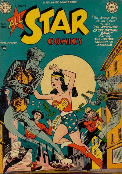 Cover for All-Star Comics (DC, 1940 series) #46