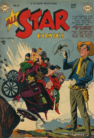 Cover for All-Star Comics (DC, 1940 series) #47