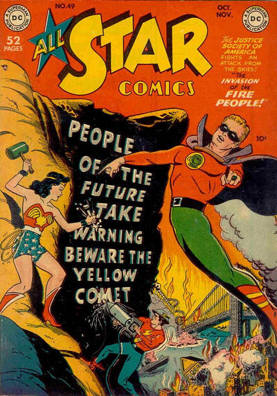 Cover for All-Star Comics (DC, 1940 series) #49