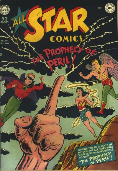 Cover for All-Star Comics (DC, 1940 series) #50