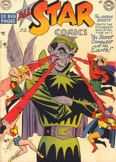 Cover for All-Star Comics (DC, 1940 series) #52