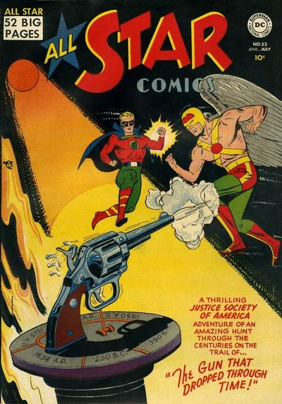 Cover for All-Star Comics (DC, 1940 series) #53