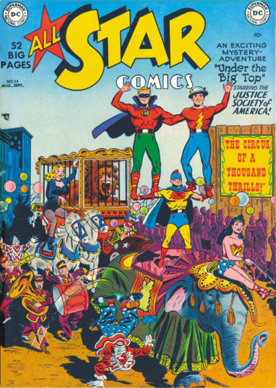 Cover for All-Star Comics (DC, 1940 series) #54
