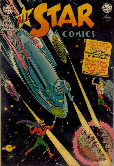 Cover for All-Star Comics (DC, 1940 series) #55