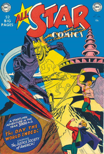 Cover for All-Star Comics (DC, 1940 series) #56