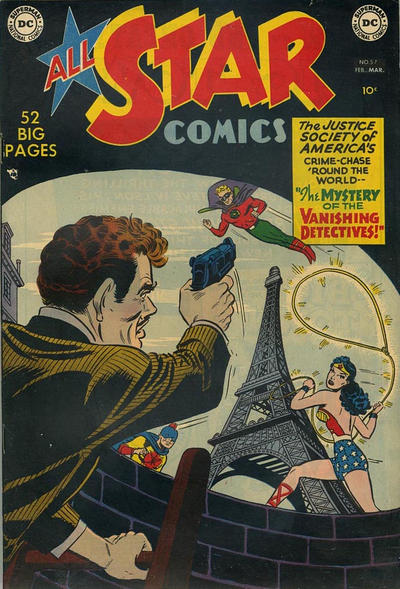Cover for All-Star Comics (DC, 1940 series) #57