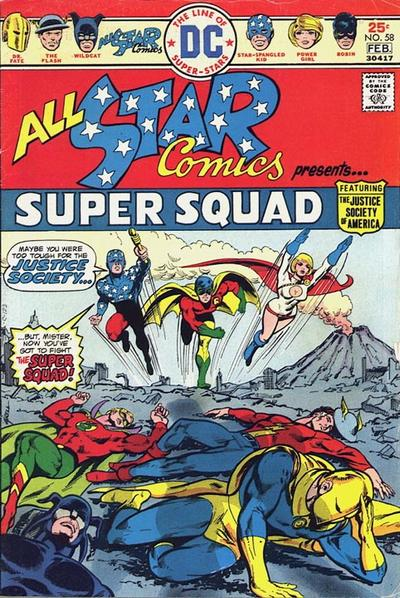 Cover for All-Star Comics (DC, 1976 series) #58