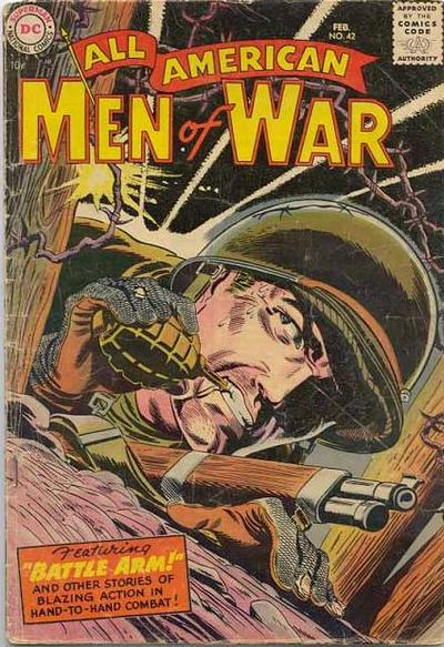 Cover for All-American Men of War (DC, 1953 series) #42