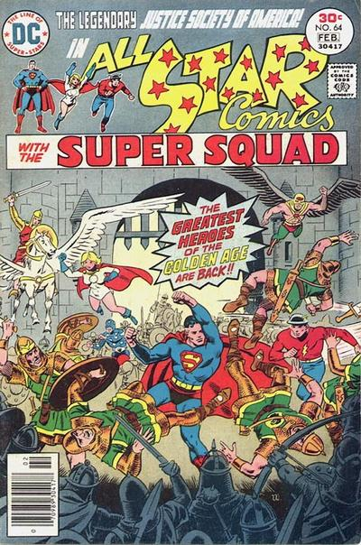 Cover for All-Star Comics (DC, 1976 series) #64