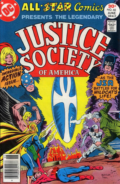 Cover for All-Star Comics (DC, 1976 series) #66