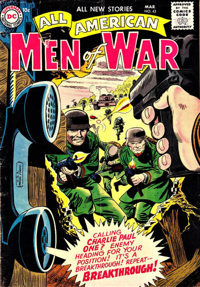 Cover for All-American Men of War (DC, 1953 series) #43