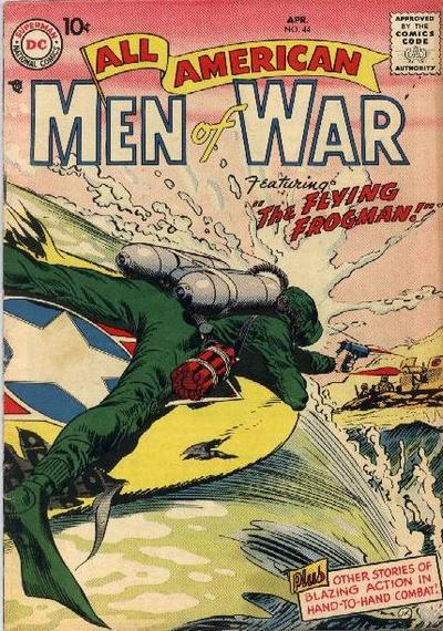 Cover for All-American Men of War (DC, 1953 series) #44