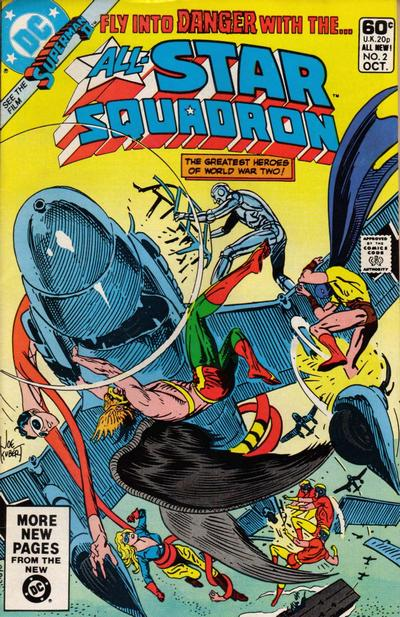 Cover for All-Star Squadron (DC, 1981 series) #2