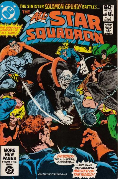 Cover for All-Star Squadron (DC, 1981 series) #3 [Direct Sales]