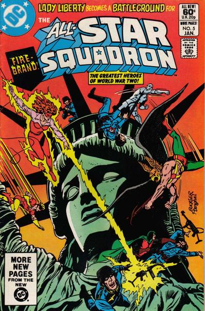 Cover for All-Star Squadron (DC, 1981 series) #5 [Direct Sales]
