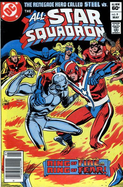 Cover for All-Star Squadron (DC, 1981 series) #9