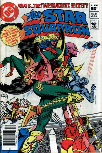 Cover for All-Star Squadron (DC, 1981 series) #11