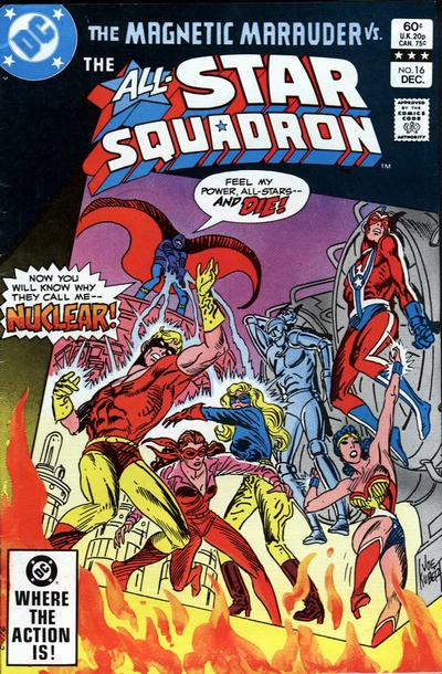 Cover for All-Star Squadron (DC, 1981 series) #16 [Direct Sales]