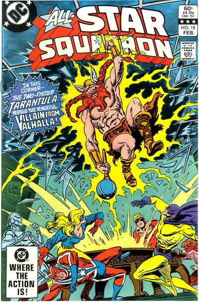 Cover for All-Star Squadron (DC, 1981 series) #18 [Direct-Sales]