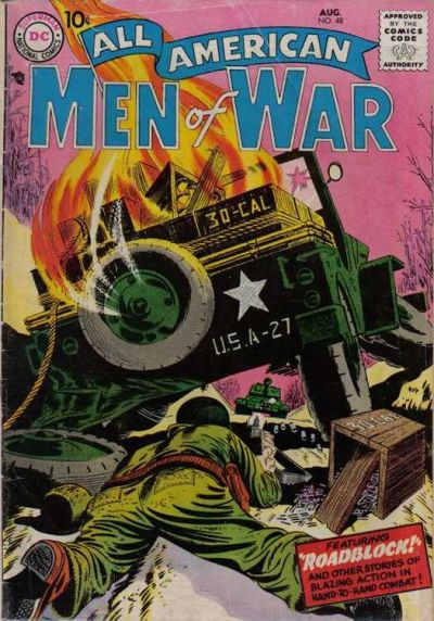 Cover for All-American Men of War (DC, 1953 series) #48