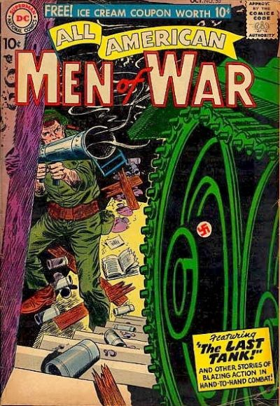Cover for All-American Men of War (DC, 1952 series) #50