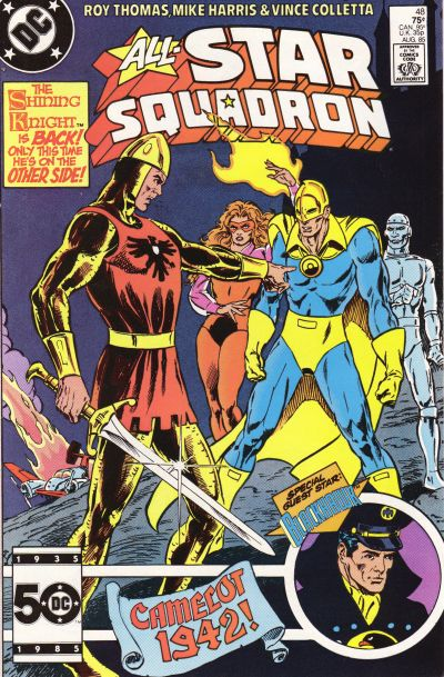 Cover for All-Star Squadron (DC, 1981 series) #48 [Direct Sales]