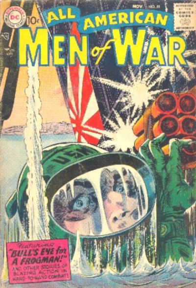 Cover for All-American Men of War (DC, 1953 series) #51