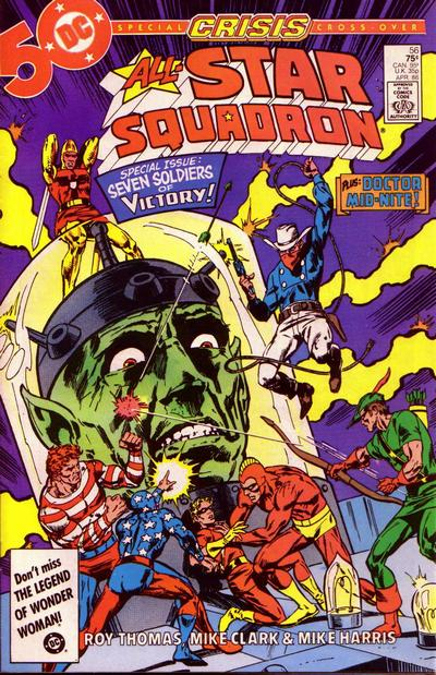 Cover for All-Star Squadron (DC, 1981 series) #56