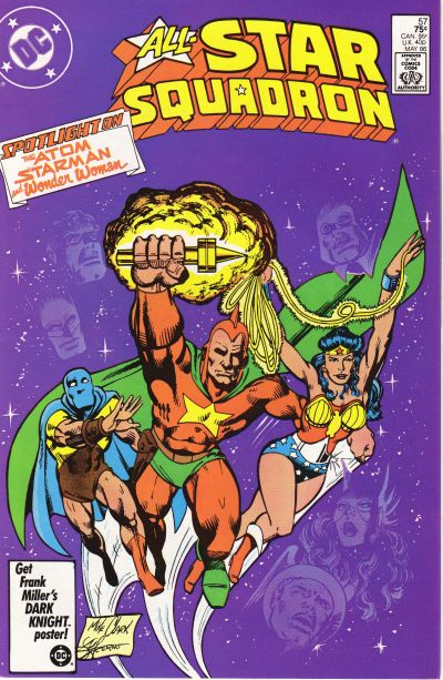 Cover for All-Star Squadron (DC, 1981 series) #57 [Direct Sales]
