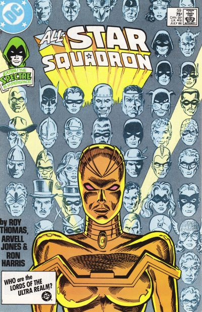 Cover for All-Star Squadron (DC, 1981 series) #59 [Direct Edition]