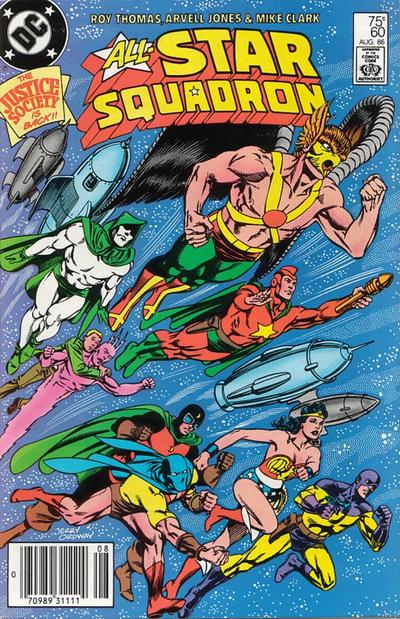 Cover for All-Star Squadron (DC, 1981 series) #60 [Direct Sales]