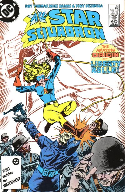 Cover for All-Star Squadron (DC, 1981 series) #61 [Direct Sales]