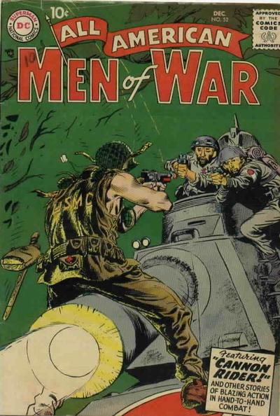 Cover for All-American Men of War (DC, 1952 series) #52