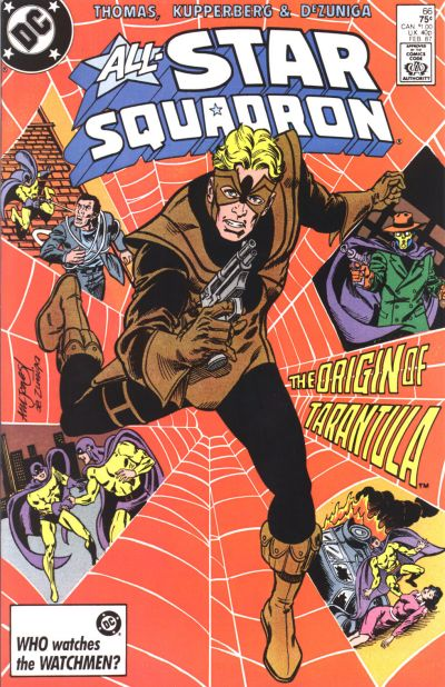 Cover for All-Star Squadron (DC, 1981 series) #66 [Direct]