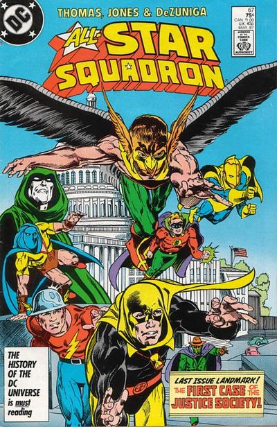 Cover for All-Star Squadron (DC, 1981 series) #67 [Direct Sales]
