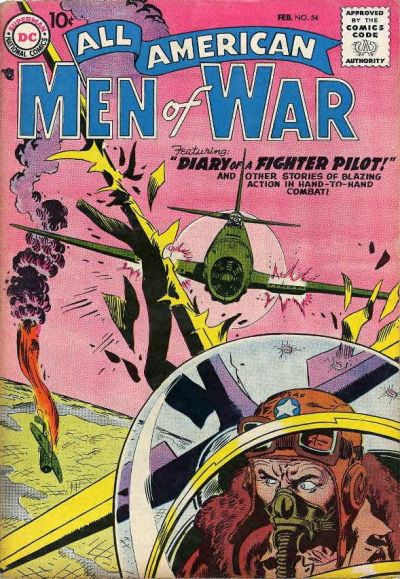 Cover for All-American Men of War (DC, 1953 series) #54