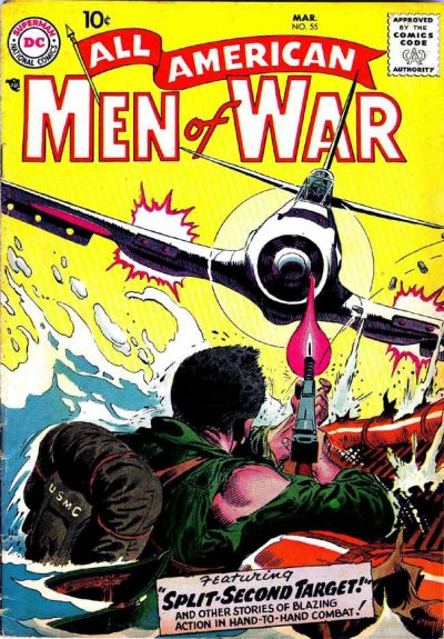 Cover for All-American Men of War (DC, 1952 series) #55