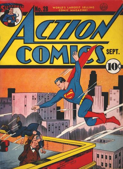 Cover for Action Comics (DC, 1938 series) #28