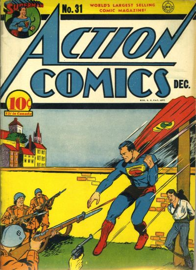 Cover for Action Comics (DC, 1938 series) #31