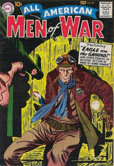 Cover for All-American Men of War (DC, 1952 series) #56