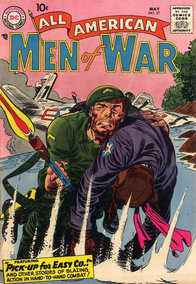Cover for All-American Men of War (DC, 1953 series) #57