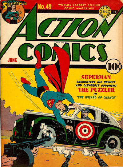 Cover for Action Comics (DC, 1938 series) #49