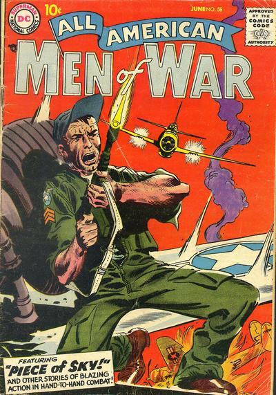 Cover for All-American Men of War (DC, 1953 series) #58