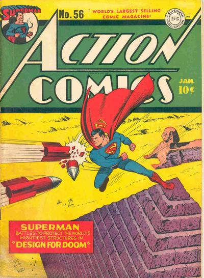 Cover for Action Comics (DC, 1938 series) #56