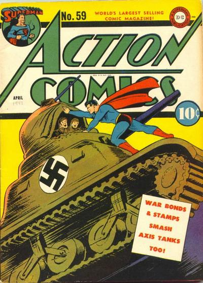 Cover for Action Comics (DC, 1938 series) #59