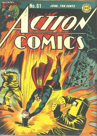 Cover for Action Comics (DC, 1938 series) #61