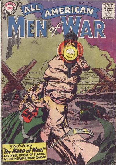 Cover for All-American Men of War (DC, 1953 series) #59