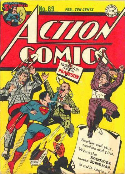 Cover for Action Comics (DC, 1938 series) #69