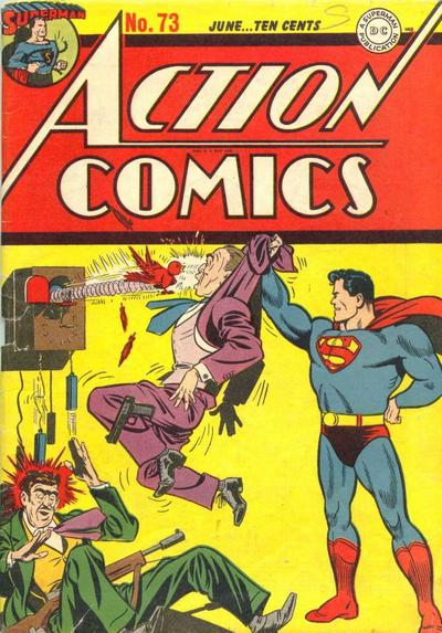 Cover for Action Comics (DC, 1938 series) #73