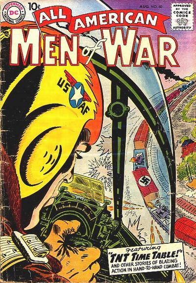 Cover for All-American Men of War (DC, 1953 series) #60